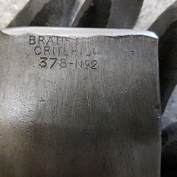 Brades Criterion 378 N02  - Tools and Hardware