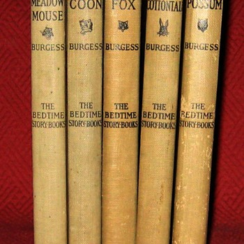 """1920's Thornton W. Burgess """"The Bedtime Story-Books"""" Series - Books"""