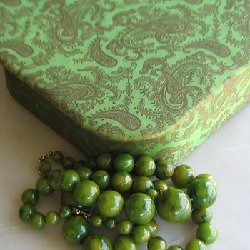 Today I am green without envy! - Accessories