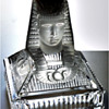 Egyptian Revival candle holder
