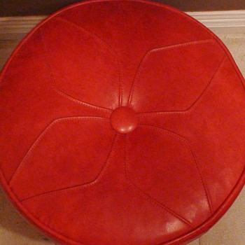 Funky Foot Stool 1960s - Furniture
