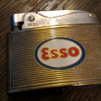 Esso lighter by Rolex - Petroliana