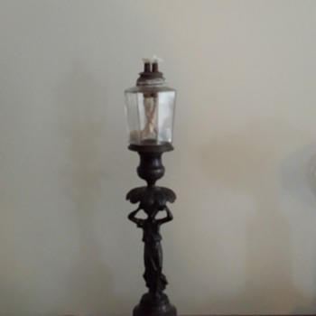My New England Whale Oil Lamp Pair - Lamps