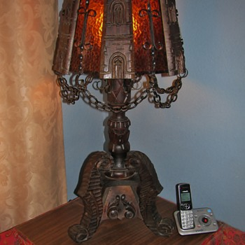 Set of Strange Hand Made Lamps I Found (1 floor/ 1 table) - Lamps