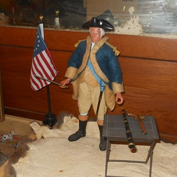 George Washington GI Joe Figure - Toys