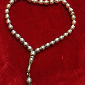 RARE 14CT GOLD ISLAMIC PRAYER BEADS - Fine Jewelry