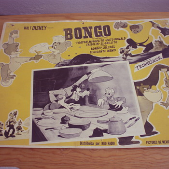 BONGO AND MICKEY AND THE BEANSTOCK 1947 LOBBY CARD - Movies
