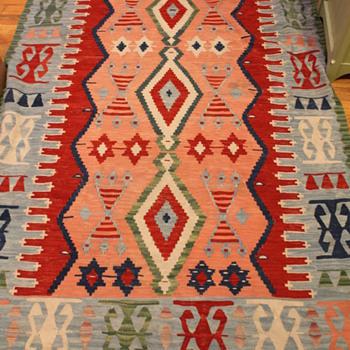"Kilim Rug Wool ""Turkish"""