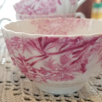 Spode, Chelsea Garden, all pink - China and Dinnerware