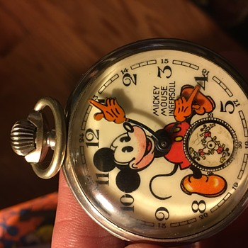 English Mickey pocket watch from the 30's - Pocket Watches