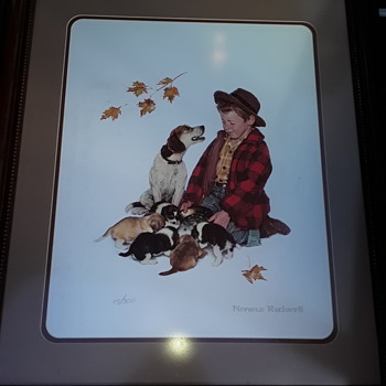 Norman Rockwell Limited Lithiograph 15/300 - Fine Art