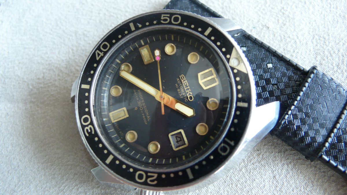 My Seiko Professional 300m Diver 6159-7001 1969's 36000 High Beat 25 Jewels  | Collectors Weekly
