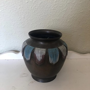 Unique Vintage Vase - Asian