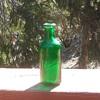 Palmer Cologne Green Bottle 1890s