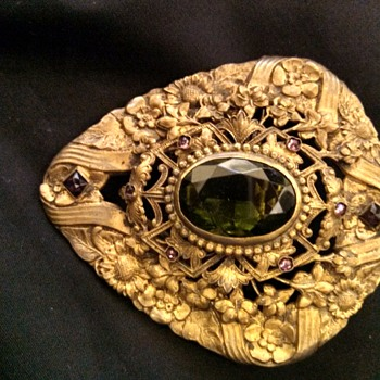Huge Art Nouveau Brooch - Fine Jewelry