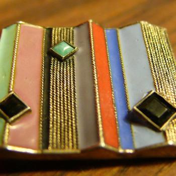 Theodor Fahrner brooch - Art Deco