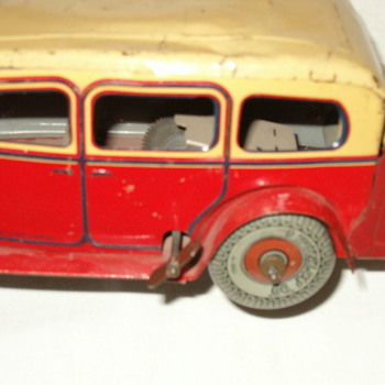 Mystery toy car made in England - Toys