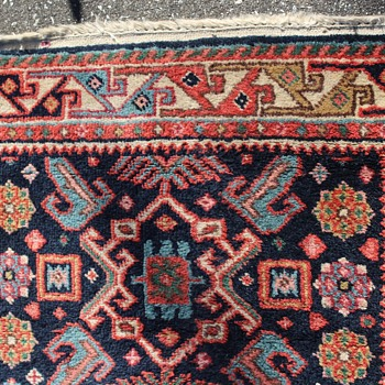 "Oriental carpet runner 31"" x 118"" - Rugs and Textiles"