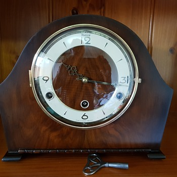 Perivale Art Deco Mantle Clock Restored - Art Deco