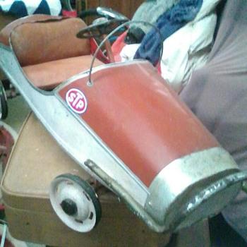Tq midget pedal car.1950s - Toys