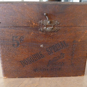 Donohue Special Panetela Special Cigar Box  - Tobacciana