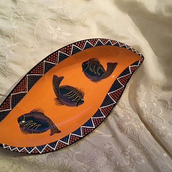 Africa Café Ceramic Bowl by Mfuneko Dingiswayo - China and Dinnerware