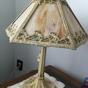 Slag lamp of unknown age..