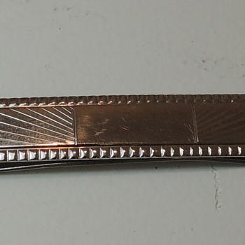 ANSON STERLING - Tie Clip - Fine Jewelry