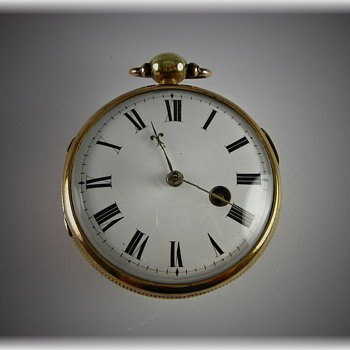 Crystal Ball Verge Fusee - Pocket Watches
