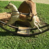 Rocking horse from 1800's