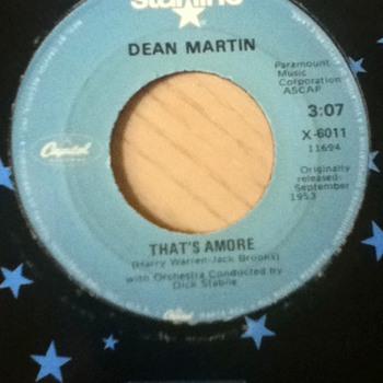 Dean Martin 45 Record - Records