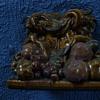 Glazed fruit Door weight (?)