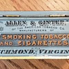 1890's Allen & Ginter Richmond Mixture Tabacco Tin.