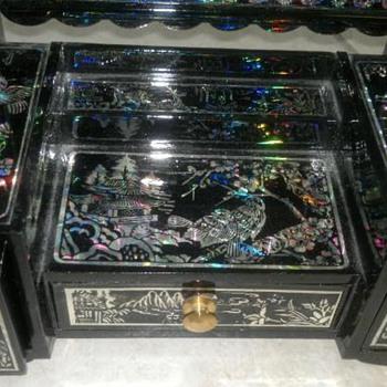 Oriental Jewelry  Box - Fine Jewelry