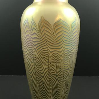 Loetz Thea Ausführung 227 Federn, PN unknown, ca. 1925  - Art Glass