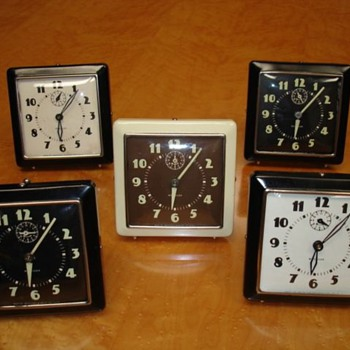 Westclox Spur Alarm Clocks - Clocks