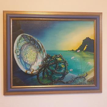 Len Mitchell 'Sea Piece' - Fine Art