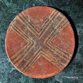 Pre-Colombian Small Plate X - Native American