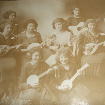Photograph of band c. 1920 - Photographs