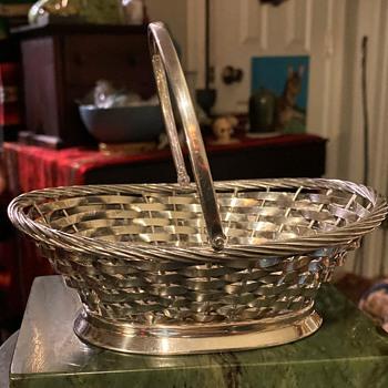 Gorham Electroplate Basket - Furniture