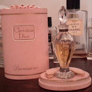 1956 Dior Diorissimo Parfum - Bottles