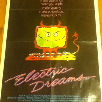 """Electric Dreams"" Poster"