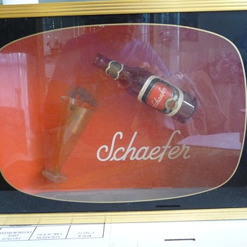 Schaefer TV sign - Signs