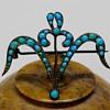 Art Nouveau Antique C-clasp Brooch