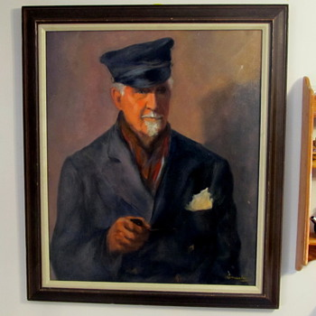 "Oil painting signed ""Limacher"" - 16"" x 20"" - Fine Art"
