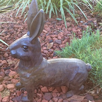 Cast Iron Rabbits - Animals