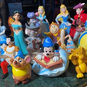 More Disney Figurines - Advertising