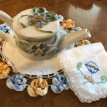 Arts & Crafts by my grandmother and me - Pottery