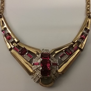 McClelland Barclay necklace  - Costume Jewelry