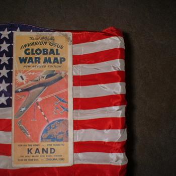 WW 2 GLOBAL WAR MAP